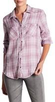 William Rast Mercer Western Slim Plaid Shirt