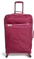 Flight 001 Avionette 26 Inch Rolling Suitcase - Burgundy