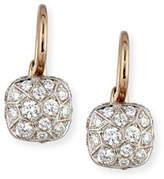 Pomellato Nudo 18K White & Rose Gold and Diamond Earrings