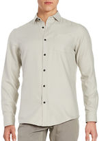 Black Brown 1826 Button-Front Shirt