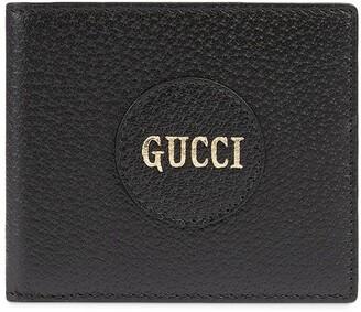 Gucci Logo Patch Bi-Fold Wallet