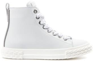 Giuseppe Zanotti Blabber White Leather Sneaker
