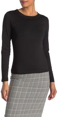 Rebecca Minkoff Lara Tie Back Long Sleeve Top