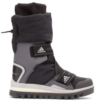 adidas by Stella McCartney Technical Logo Jacquard Boots - Womens - Black