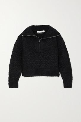 IRO Shansa Wool-blend Sweater - Black
