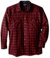 Pendleton Men's Tall Size Big Canyon Snap-Front Shirt