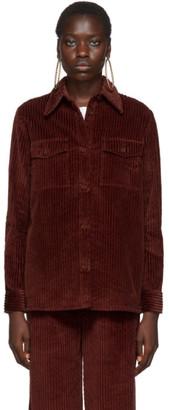M Missoni Burgundy Corduroy Shirt
