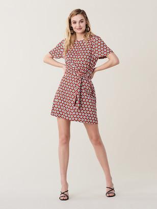 Diane von Furstenberg Teresa Silk-Jersey Mini Dress
