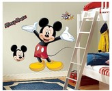 BuySeasons Mickey Mouse Giant Wall Decal