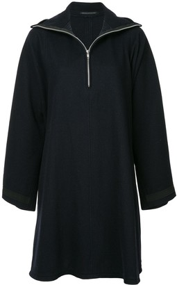 Yohji Yamamoto Pre-Owned high collar dress