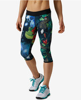 Reebok CrossFit Reversible Chase Capri Leggings