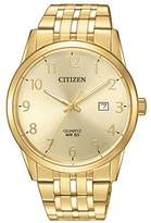 Citizen Men's Quartz Stainless Steel Casual Watch, Color:Gold-Toned (Model: BI5002-57Q)