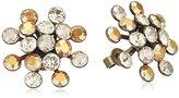 Konplott 5450543301839 Magic Fireball Women's Stud Earrings Brass / Glass Multicoloured