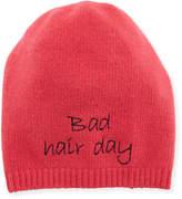Portolano Bad Hair Day Cashmere Beanie Hat