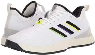 adidas adizero Ubersonic 3 LTD (Footwear White/Core Black/Cream White) Men's Tennis Shoes