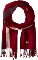 Fred Perry Men's Tipped Woven Scarf