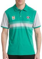 Golf Canada Technical Center Stripe Polo