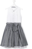 Lapin House checked skirt dress
