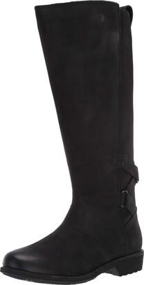 Teva Womens womens Ellery Tall Waterproof Burnished Boots