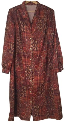 Non Signã© / Unsigned Hippie Chic Red Polyester Dresses