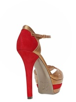 Ernesto Esposito 130mm Suede And Leather Pumps