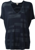 Armani Collezioni stylised T-shirt - women - Viscose/Cotton - M