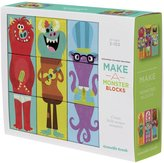 Crocodile Creek Make-A-Critter Blocks Monster Faces and Shapes Mix and Match Block Stacking Sets