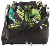 Proenza Schouler Small Canvas Floral Bucket Bag