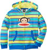 Paul Frank Little Boys' Striped Hoodie