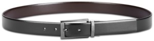 HUGO BOSS Men's Elvio-u Reversible Leather Belt