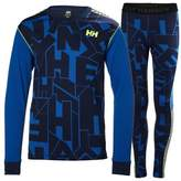 Helly Hansen Boy's Jr. Hh Active Flow Base Layer Top & Pants Set