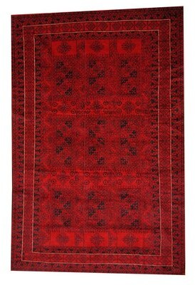 Isabelline Prentice Wool Red Area Rug Shopstyle