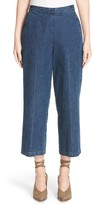Rachel Comey Women's Limber High Rise Crop Straight Leg Jeans