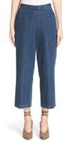 Rachel Comey Women's Limber High Waist Crop Straight Leg Jeans