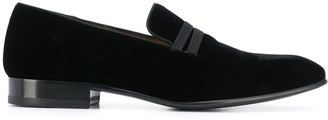 Malone Souliers Miles velvet loafers