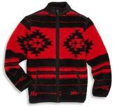 Ralph Lauren Toddler Boy's Fleece Printed Jacket