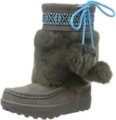 BearPaw Hope Youth US 1 Gray Winter Boot