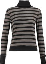 Kain Label Creyton striped stretch-modal turtleneck sweater