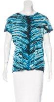 Proenza Schouler Tie-Dye Print T-Shirt