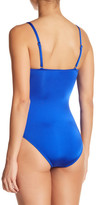 Letarte Ruched One-Piece