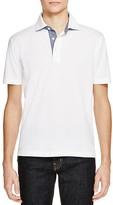 Brooks Brothers Patina Chambray Trim Regular Fit Polo Shirt