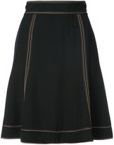Marc Jacobs Stitch flare skirt