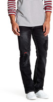 True Religion Embroidered & Distressed Jeans