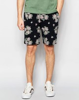 Dickies Shorts With All Over Floral Print