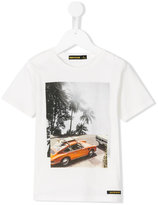 Finger In The Nose car print T-shirt