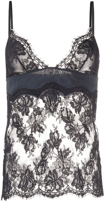 La Perla Sheer Lace Top