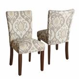 HomePop Suri Ikat Medallion Dining Chair 2-piece Set