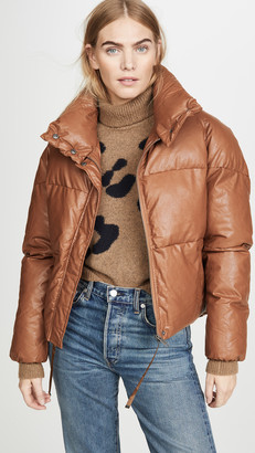 Apparis Camila Vegan Leather Puffer