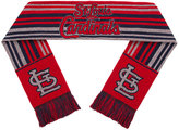 Forever Collectibles St. Louis Cardinals Glitter Stripe Scarf