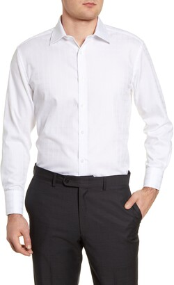 English Laundry Regular Fit Textured Dress Shirt